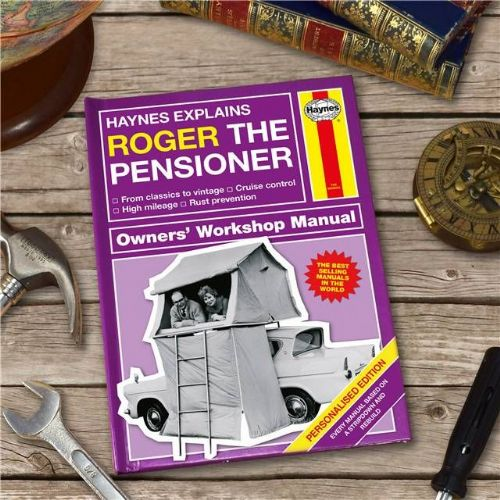 Personalised Haynes Explains Pensioners